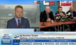 Krystian Dudek TVN24 TVN