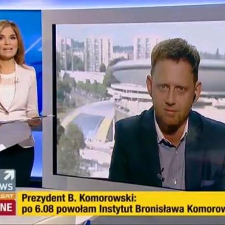 polsat news dr Dudek1