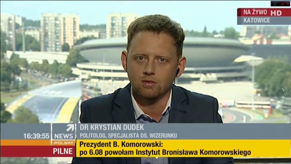 polsat news dr Dudek2