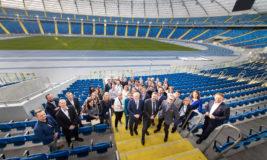 Konferencja Stadion Śląski - zdjęcie wspólne